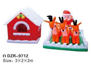 DZR-9712 Inflatable Tent Obstacle Cartoon